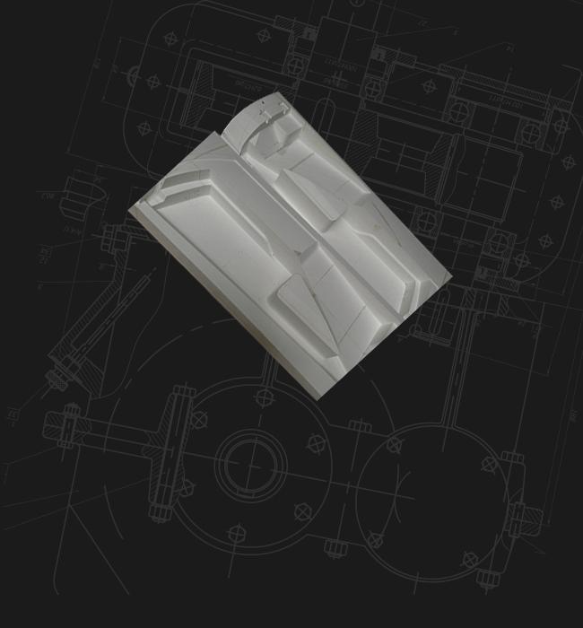 カーボン成形・パールボード型